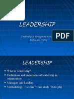 Leadership Final