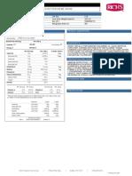 Spec Sheet 09716