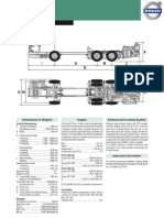 Volvo B13R Data Sheet