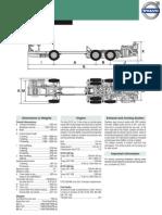 Volvo B13R Data Sheet