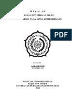 Sejarah Pendidikan Islam Di Indonesia Pada Masa Orde Lama