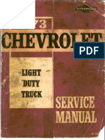 ST 330-73-1973 Chevrolet Light Truck Service Manual