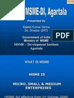 MSME presentation