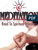 Meditation Road to Spiritual Freedom