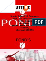 POND'S brand