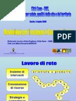 """Bianchi - Foggia """"Metodologie per il sostegno ai Comuni della Rete"""""""