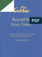 Beyond the Ivory Tower - Rethinking Translation Pedagogy