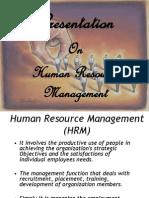 HRM Summary