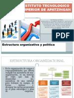 4.3 Estructura Organizacional y Politica