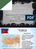 PREZENTARE Cadastru Turcia-Romania