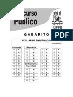 1558189800 Gabarito Nivel Medio Ufpe 2013