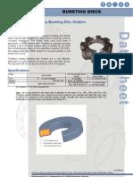 Tantaline Surface Alloy for Bursting Disc Holders