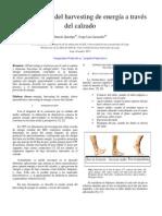 generalidades del harvesting de energía a través del calzado