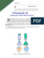 PARETO - Princípio 80-20