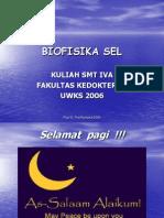 Biofisika Sel