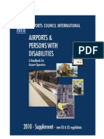 Supplement for Airports and Persons With Disabilities