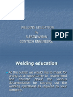 Basics of Welding Eduction.