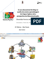 O uso educacional do blog no auxílio...