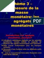 thème 3 - les agrégats monétaires