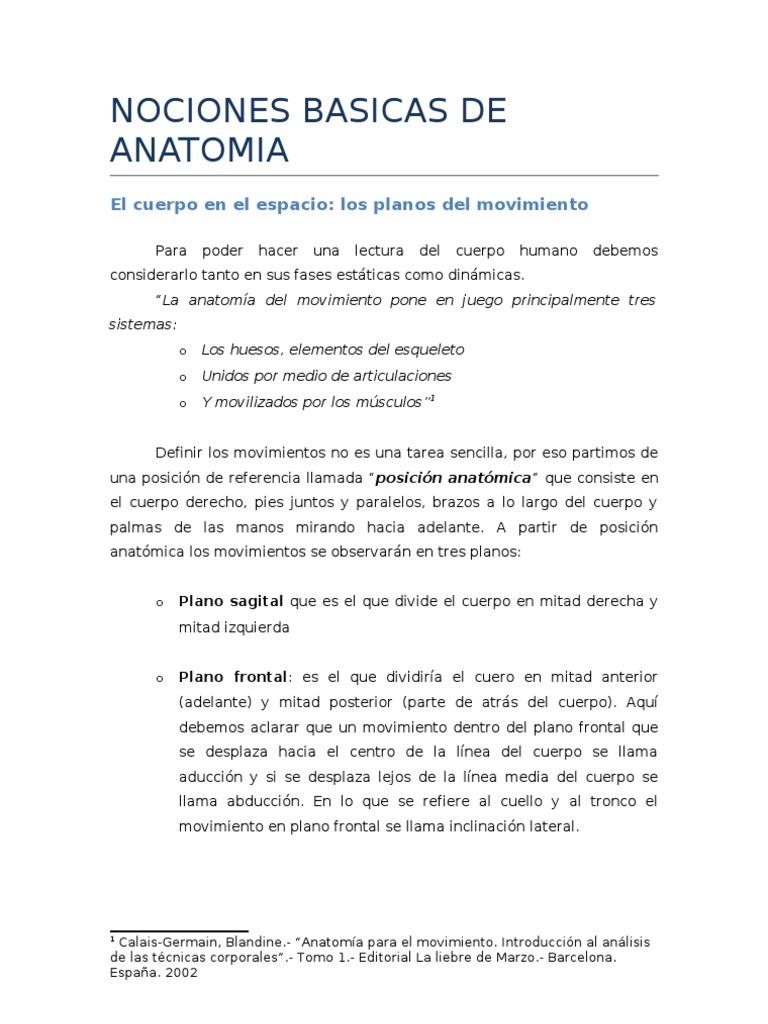 Famoso Movimientos Anatomía Del Cuerpo Friso - Imágenes de Anatomía ...