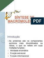 SÍNTESE_MACROMOLÉCULAS