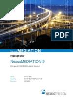NexusMEDIATION 9 Product Brief 130111