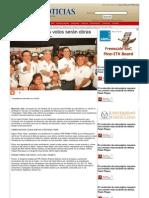 12-06-2013 Con Pepe Elías los votos serán obras