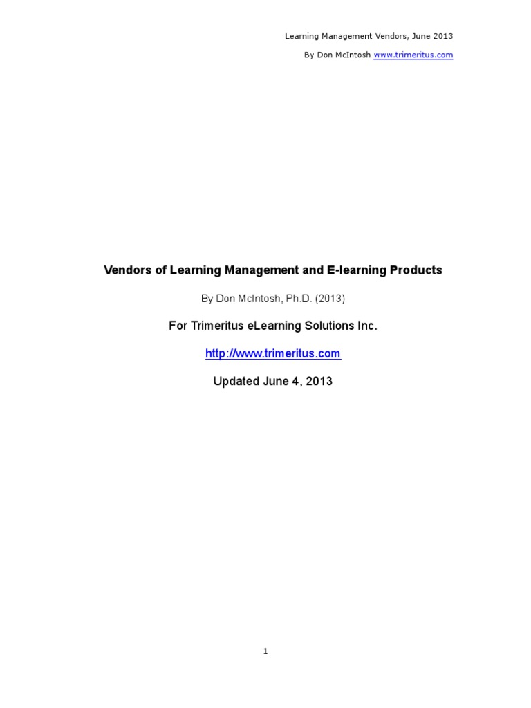 Vendors Software As A Service Educational Technology