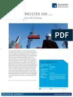 Datenblatt Logistikmeister IHK