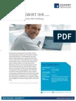 Datenblatt Betriebswirt IHK