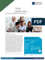 Datenblatt Technischer Betriebswirt IHK