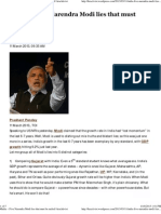 #India – Five Narendra Modi lies that must be nailed _ kracktivist