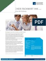 Datenblatt Technischer Fachwirt IHK