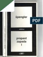Spengler, Oswald- Propast Zapada (Tom1)