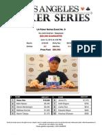 2013 LA Poker Series Event 9 - The Bicycle Casino