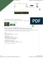 [Tutorial] Convertir un video (MP4, FLV, 3GP, RMVB ó MPG) a AVI