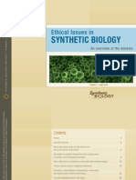 Ethical Issues in Synthetic Biology