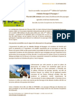 """Succès au rendez-vous pour la 4ème édition de l'opération """"Balades Elevages & Paysages"""" !"""