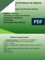 Riscuri Profesionale in Mediul Spitalicesc