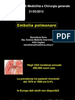 I.B. Embolia Pomonare