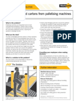 HSS0016 - Clearing Jammed Cartons From Palletising Machines