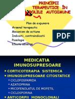 terapia imunosupresoare