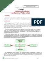 TEMA IV Entrenamiento Integrado