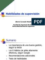 Habilidades de Supervision 2013