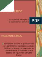 Genero Lirico