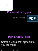Personality Types Test