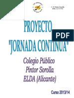 Proyecto Pintor Sorolla Jornada-continua