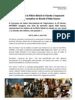 Les métiers de la filière Bétail et Viande s'exposent sous l'oeil complice et décalé d'Aldo Soares