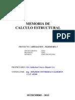 Memoria Calc.estruct_TechoMEtalico-Nuevo Mundo2012