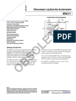 Acelerômetro ADXL 311
